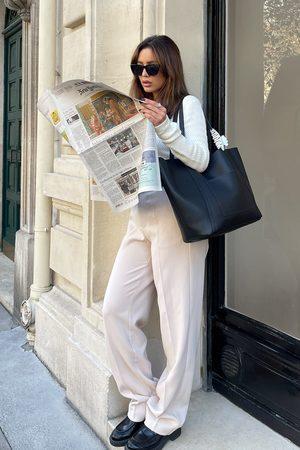 Mimi A.R x NA-KD Pantalon de costume surdimensionné