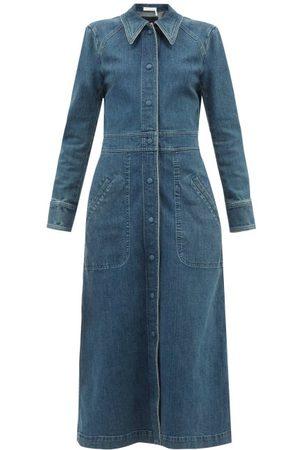 Chloé Femme Robes en jean - Robe en denim à manches longues