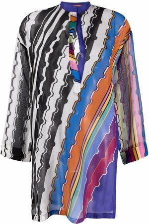 Missoni Robe de plage à imprimé abstrait