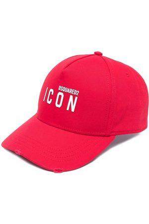Dsquared2 Homme Chapeaux - Casquette à logo imprimé