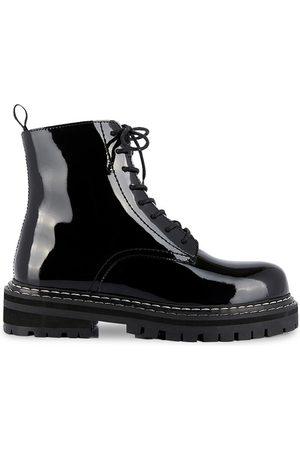 Les Tropéziennes par M Belarbi Femme Bottines - Boots cuir à lacets Reine