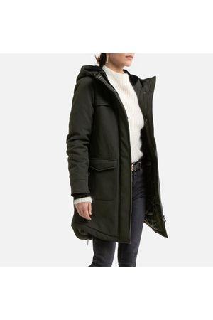ONLY Femme Manteaux longs - Manteau long à capuche