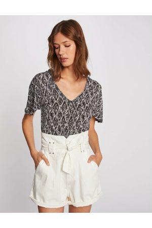 Morgan T-shirt manches courtes imprimé abstrait