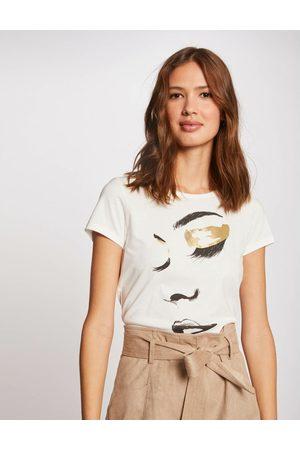Morgan T-shirt manches courtes à inscription