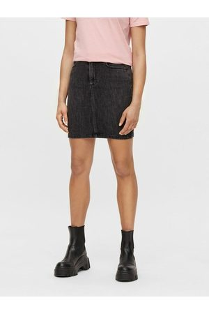 Pieces Jupe en jean Coupe skinny