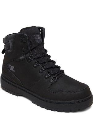 DC Boots en cuir à lacets PEARY