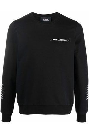 Karl Lagerfeld Sweat à logo imprimé