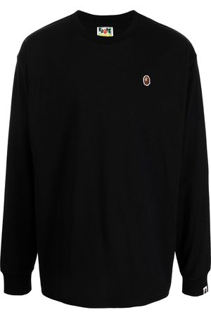 A Bathing Ape Embroidered logo long-sleeve top