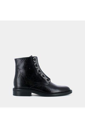 JONAK Boots cuir à lacets Dolce