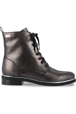 Les Tropéziennes par M Belarbi Femme Bottines - Boots cuir à lacets Mathilde