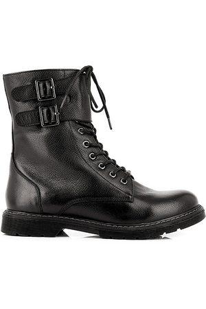Les Tropéziennes par M Belarbi Femme Bottines - Boots cuir à lacets Lacis