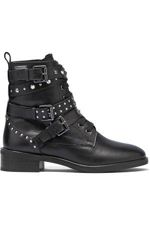 Pepe Jeans Femme Bottines - Boots cuir Orsett Rock