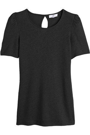 La Redoute T-shirt col rond en lin