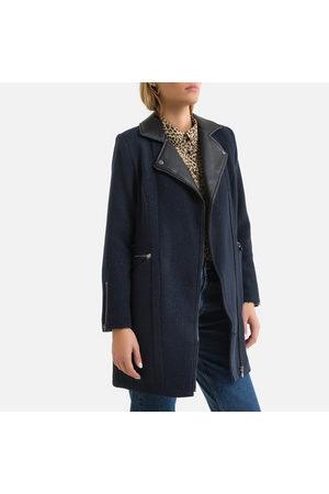 Le Temps des Cerises Femme Manteaux longs - Manteau mi-long, col tailleur