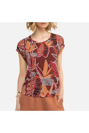 ANNE WEYBURN T-shirt imprimé col rond, manches courtes