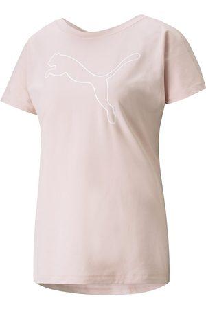 PUMA Femme Manches courtes - Tshirt manches courtes col rond, logo