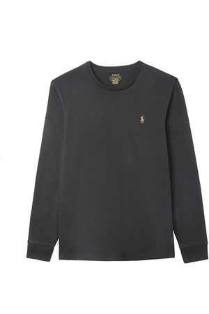 Polo Ralph Lauren Homme Manches longues - T-shirt manches longues en jersey de coton