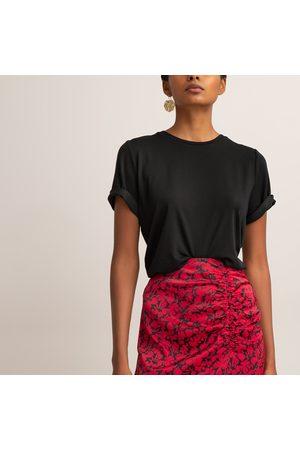 La Redoute T-shirt col rond, en lyocell
