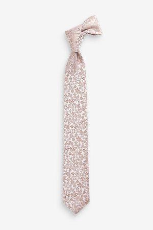 Next Cravate en soie imprimé floral (1-16 ans)