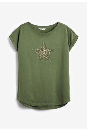Next T-shirt à ourlet arrondi
