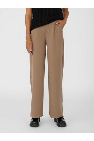 Object Femme Pantalons Slim & Skinny - Pantalon Ample