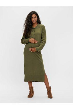 Mama Licious Robe mi-longue de grossesse MLSALOME TRICOT