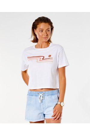 Rip Curl T-shirt à manches courtes Crop Drifter