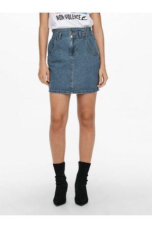 ONLY Jupe en jean Taille haute