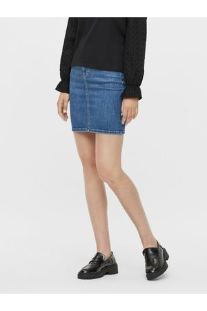 Pieces Jupe en jean Mini