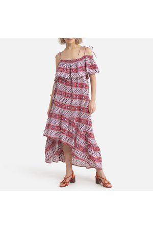 Antik Batik Robe patineuse imprimé graphique AUSTIN DRESS