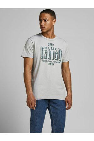 JACK & JONES Homme Manches courtes - T-Shirt Col ras-du-cou